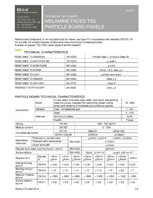 Technical Datasheet and Features