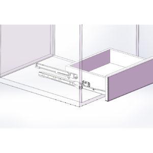 amortisseur zeta pour coulisse standard montage par le fond quincaillerie richelieu. Black Bedroom Furniture Sets. Home Design Ideas