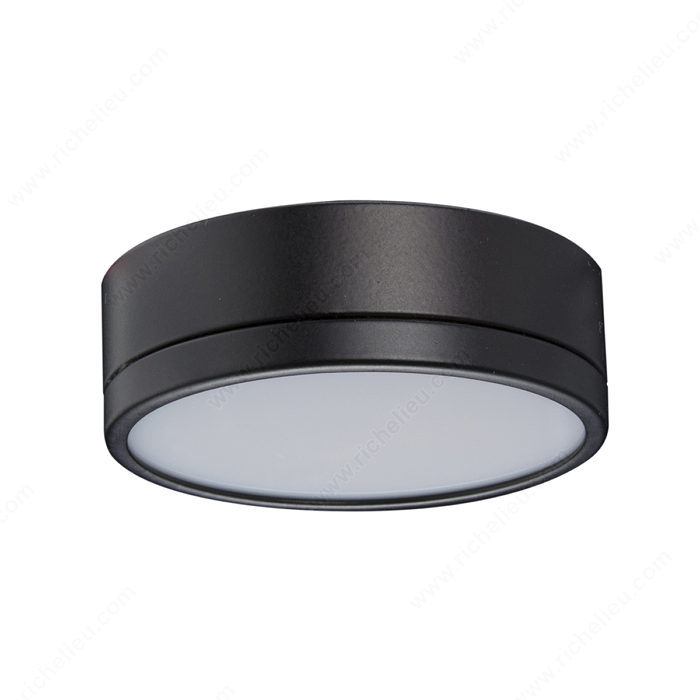 Led 2w pila puck light black finish richelieus 1st wireless led 2w pila puck light black finish richelieus 1st wireless lighting system richelieu hardware aloadofball Choice Image