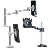 Single Arm LCD Flat Panel Desk Mount