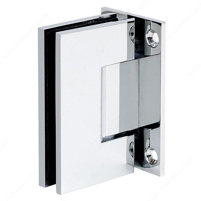 charni re verre mur 90 plaque de fixation compl te s rie prime compact quincaillerie. Black Bedroom Furniture Sets. Home Design Ideas