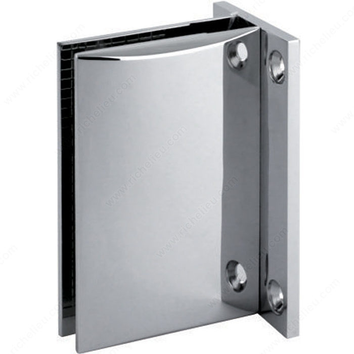 Grande pince mur verre 90 avec support plaque for Acheter plaque de verre