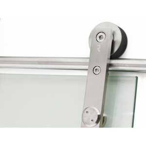 LOGO - Glass Door Wall Mount Sliding System