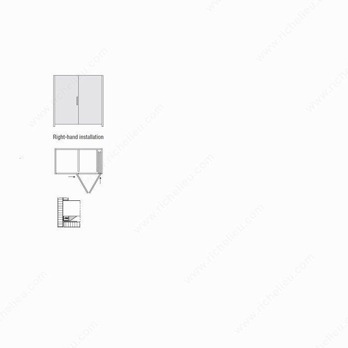 hawa-folding concepta 25 tall  slide