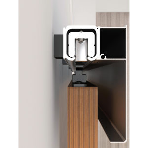 The Contemporary Kit For Wall Mount With Track Richelieu