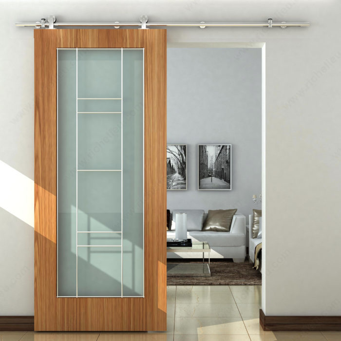 Door Type Sliding Door Hardware Industrial Sliding Door Set For