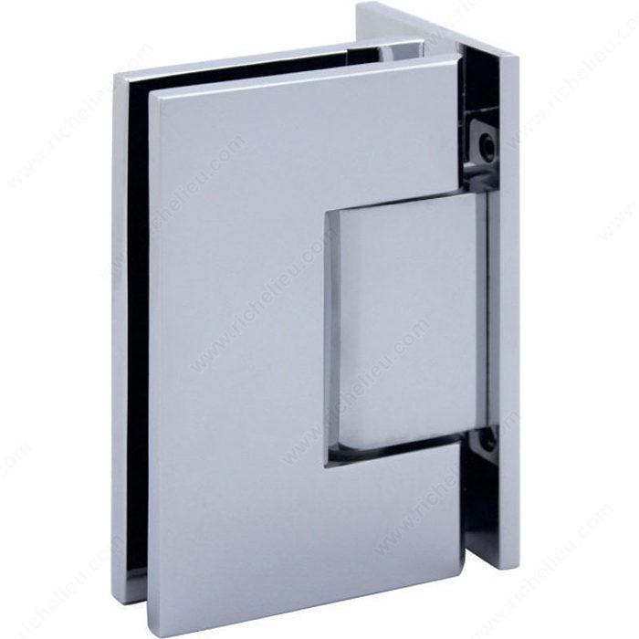 Charni re verre mur 90 plaque de fixation d centr e for Miroir 50in projector specs