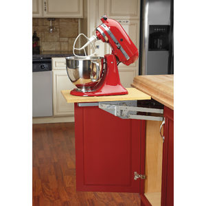 Retractable Shelf Mechanism for Stand Mixer