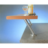 Inclined bar consoles