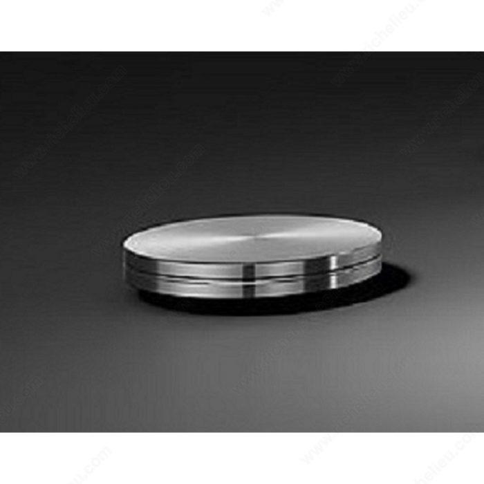 adaptateur rond pour coller une plaque de verre quincaillerie richelieu. Black Bedroom Furniture Sets. Home Design Ideas
