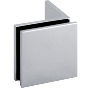 90° Glass-to-Wall Offset Clamp - Square