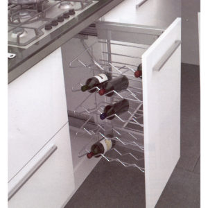 Pull-Out System for Wine Bottles