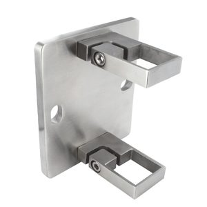 Square Fascia Mount Brackets for Square Baluster Post