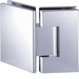 135° Glass-to-Glass Hinge - Square Heavy Duty Series