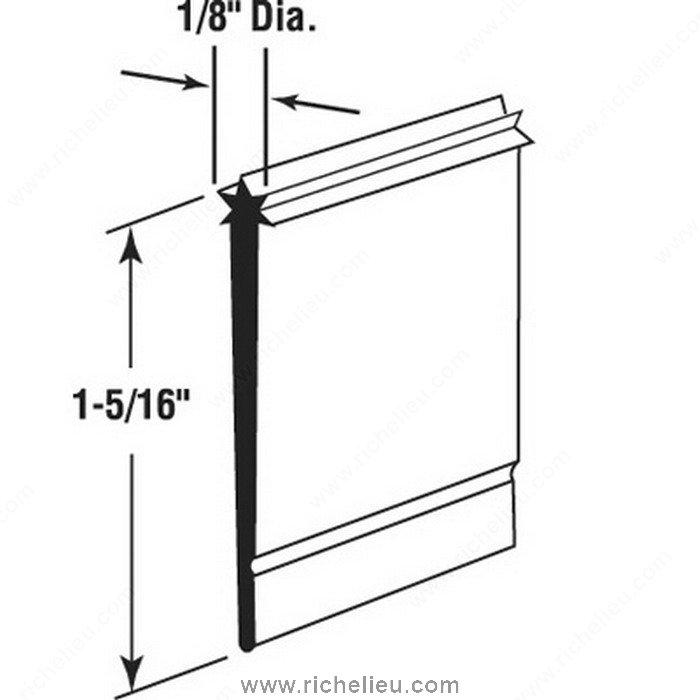 Shower Door Bottom Sweep Richelieu Hardware