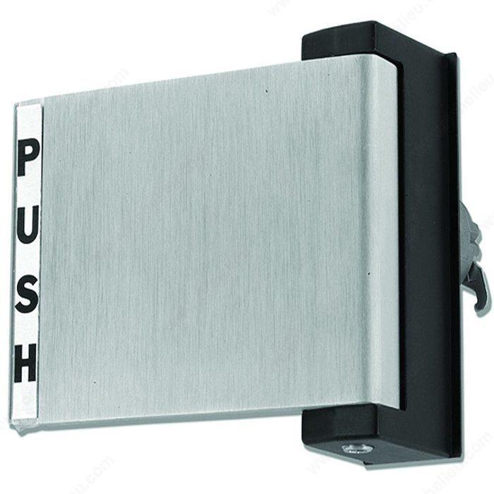 Push Pull Door : Push pull paddle richelieu hardware