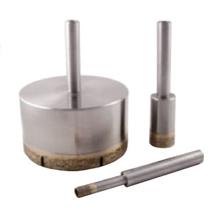 "Diamond Core Drill Bit for Standard 3/8"" Shank"