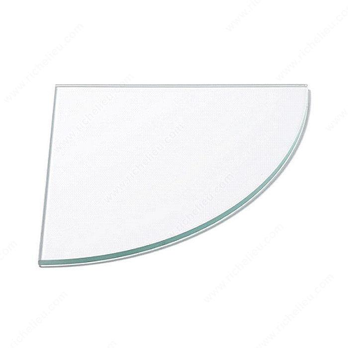 Tablette en verre tremp 10 mm quincaillerie richelieu - Tablette verre trempe ...