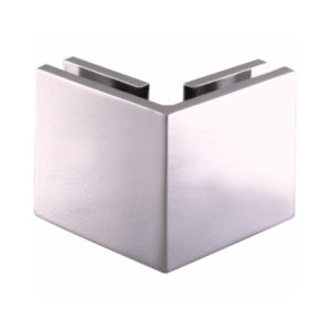 90° Glass-to-Glass Exterior Corner Clamp - Square