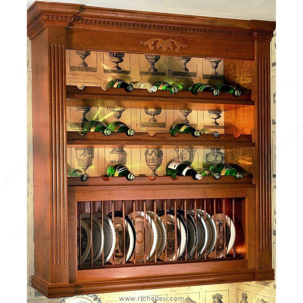 Wine Racks Kitchen Cabinets: Wood Profile For Bottle Rack