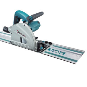 "6-1/2"" Plunge Cut Circular Saw with 55"" Guide Rail"