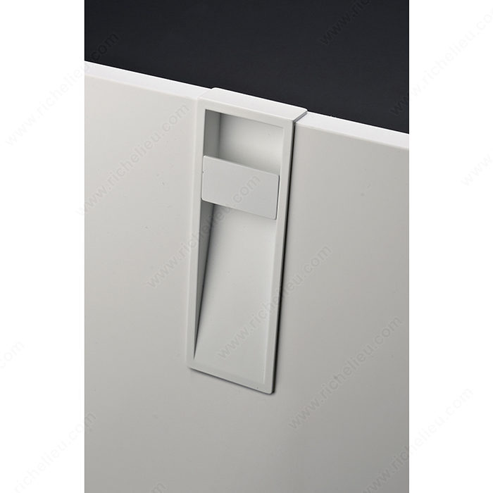 Contemporary Recessed Metal Pull 9096 Richelieu Hardware