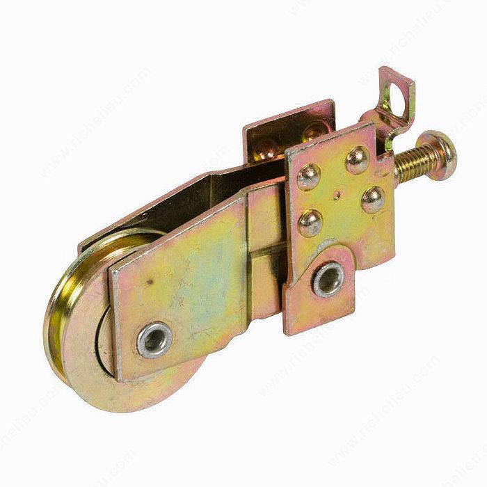 Roulette pour porte fen tre coulissante alcan 29 mm 1 1 for Quincaillerie porte fenetre