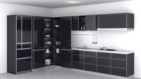 RStore Cabinet And Furniture Sliding Door Systems Richelieu - Kitchen cabinets with sliding doors