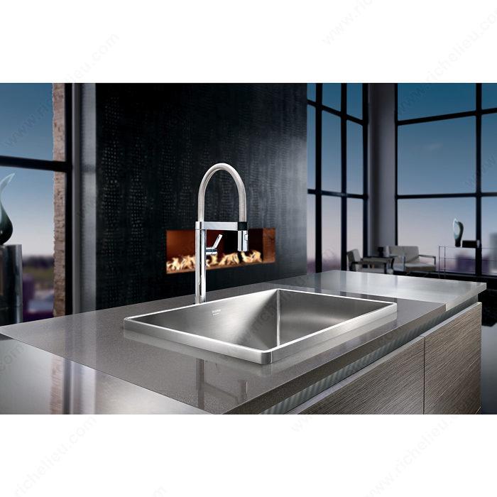 robinet de cuisine blanco culina mini quincaillerie richelieu. Black Bedroom Furniture Sets. Home Design Ideas