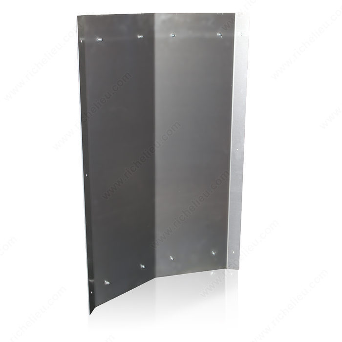 45 Aluminum Corner For Wall Mounted Wine Rack Richelieu Hardware