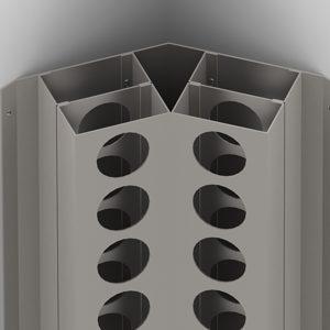 45 Aluminum Corner For Wall Mounted Wine Rack Richelieu Hardware