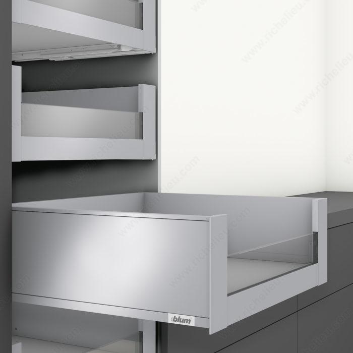 tiroir l 39 anglaise hauteur c insertion 1 2 hauteur quincaillerie richelieu. Black Bedroom Furniture Sets. Home Design Ideas