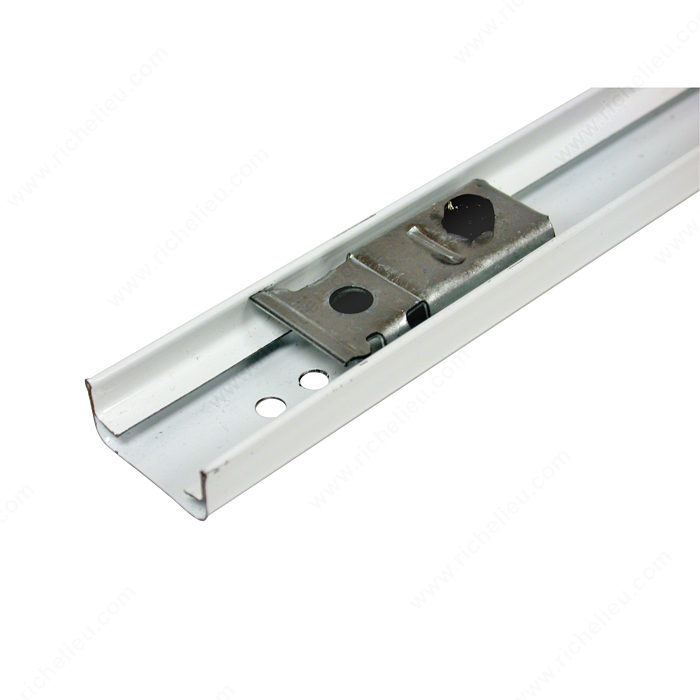 Riel para mecanismo de puerta plegable richelieu hardware for Montage porte accordeon