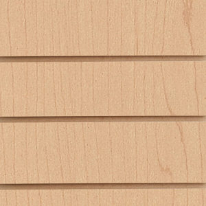 Slatwall Panel - Hard Rock Maple