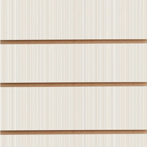 Slatwall Panel - Ribbon White