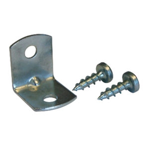 Small Metal Bracket, Screws Included