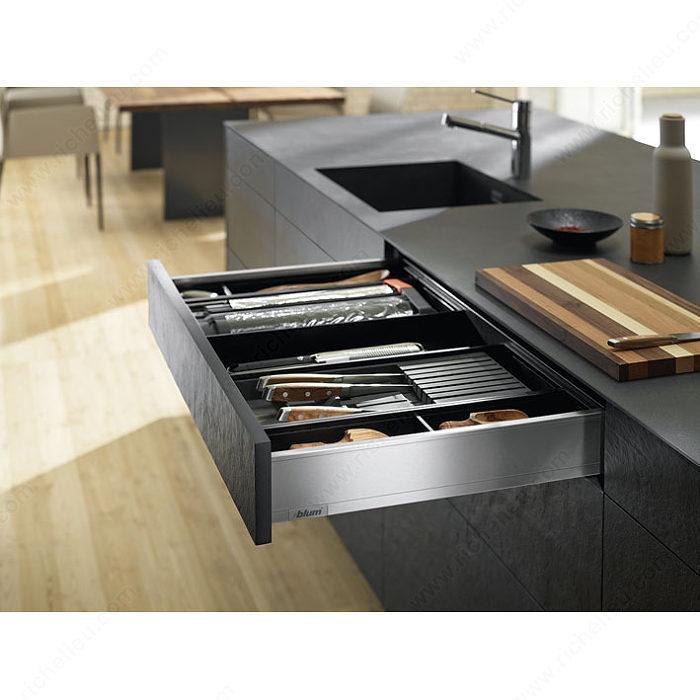 range couteaux pour tiroir legrabox quincaillerie richelieu. Black Bedroom Furniture Sets. Home Design Ideas