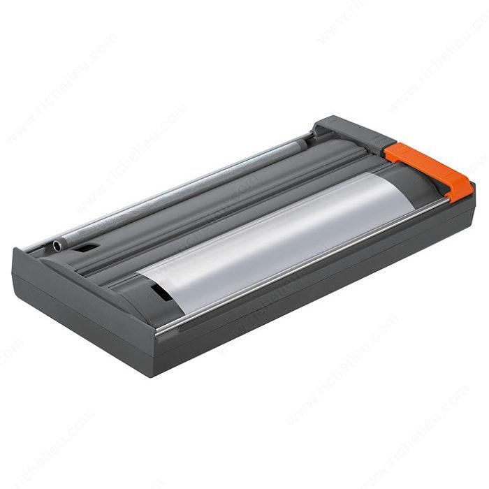 D rouleur double pour pellicule de plastique et papier d 39 aluminium quincaillerie richelieu - Derouleur papier alu ...