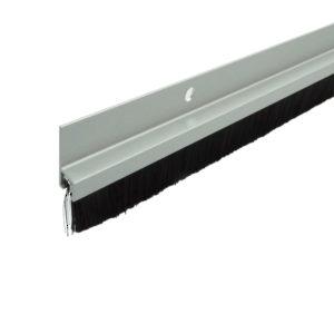 commercial door weather stripping. aluminum door sweep with 1\u0026quot; commercial weather stripping