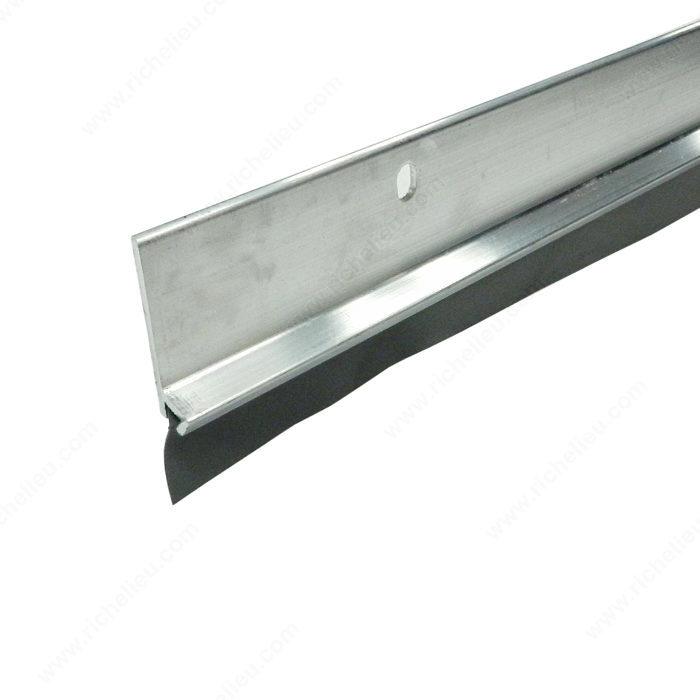Aluminum weatherstrip with vinyl insert richelieu hardware - Commercial door sweeps for exterior doors ...