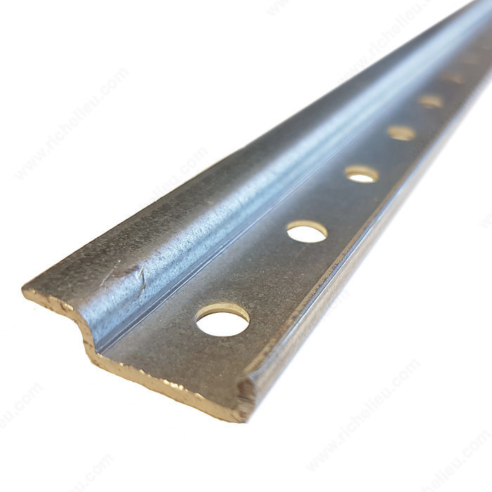 Steel Hanging Rail 8 Ft 2430 Mm Richelieu Hardware