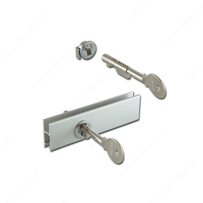 Cabinet Sliding Glass Door Lock for glass rail - Richelieu ...
