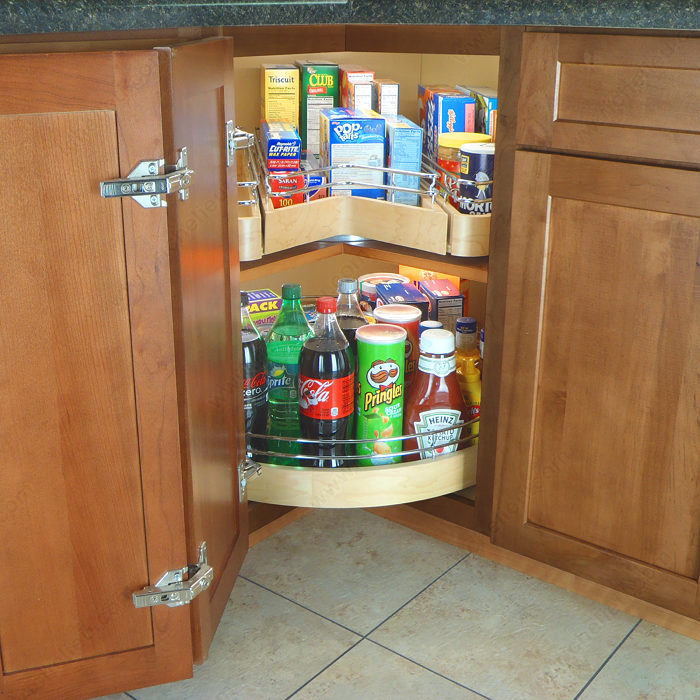 Kitchen Cabinet System: System With One Shelf And Drawer