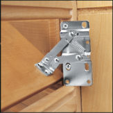 Tip-Out Tray Hinges