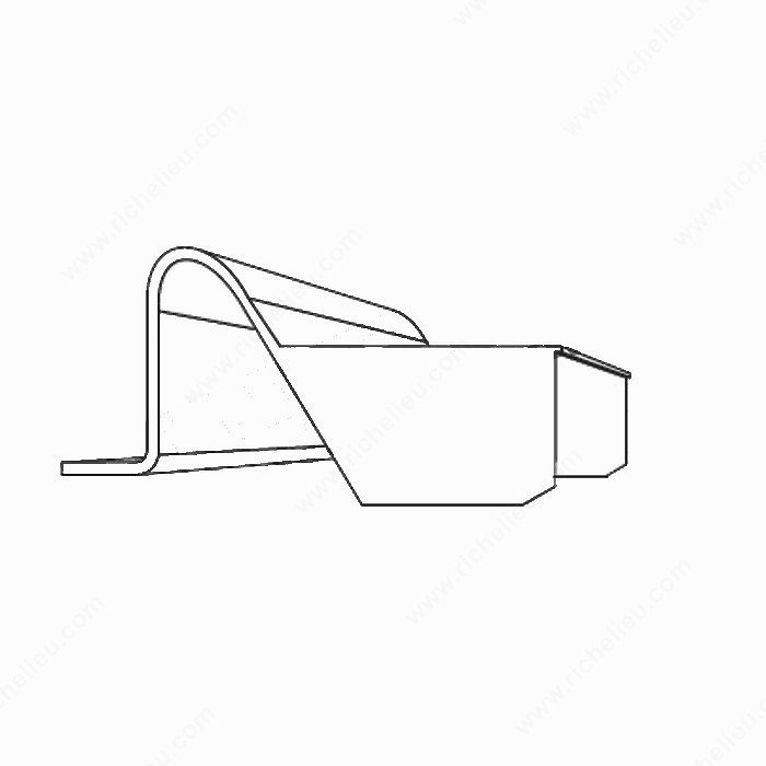 Inserto de travesaño para marco mosquitero - Richelieu Hardware