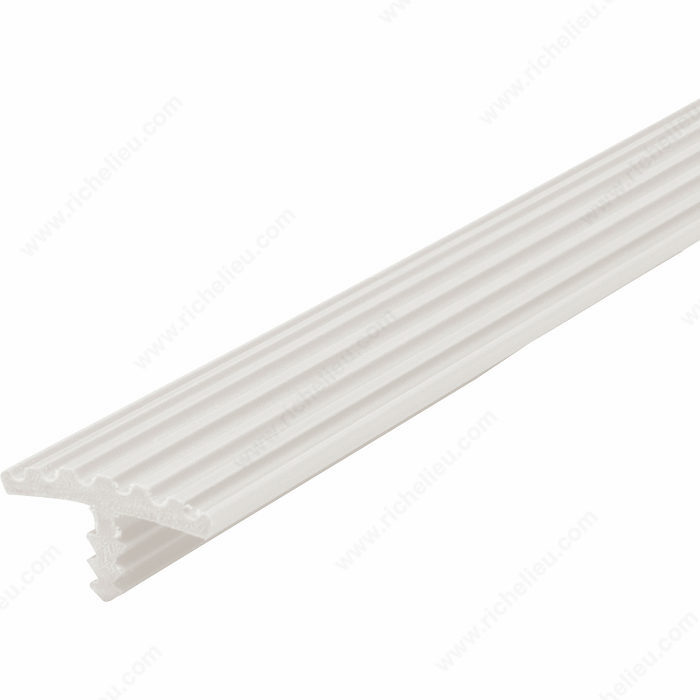 Ribbed PVC Flexible T-Molding - Richelieu Hardware