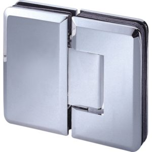 180° Glass-to-Glass Hinge - Beveled Heavy Duty Series