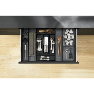 Modular AMBIA-LINE Kits for Cutlery and Utensils for Standard Drawer