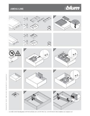 blumotion soft close drawer slides installation instructions