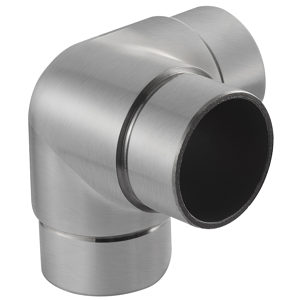 Handrail 3-Way Connector with 90° Right Angle